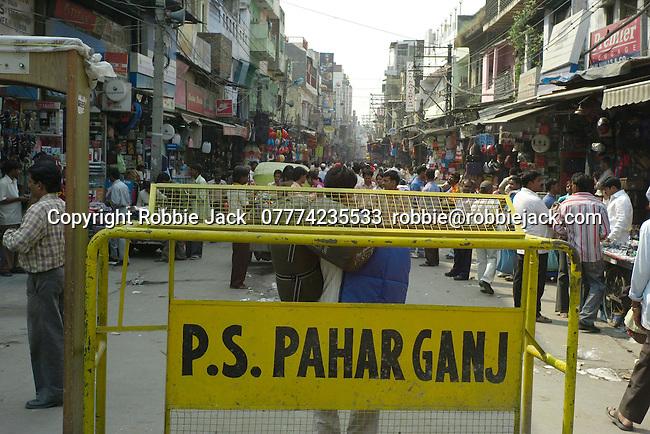 Paharganj district of New Delhi, India.