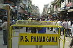 Paharganj district of New Delhi, India.