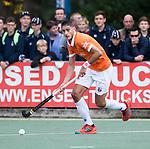 UTRECHT - Xavi Lleonart Blanco (Bldaal)  tijdens de hockey hoofdklasse competitiewedstrijd heren:  Kampong-Bloemendaal (3-3).    COPYRIGHT KOEN SUYK