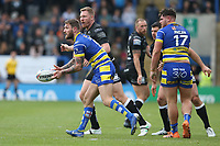 Warrington Wolves' Daryl Clark during the Betfred Super League Round 15 match between Warrington Wolves and Hull at The Halliwell Jones Stadium on May 18, 2019 in Warrington, England. (Photo by CameraSport via Getty Images<br /> <br /> Photographer Stephen White/CameraSport<br /> <br /> Betfred Super League Round 15 - Warrington Wolves v Hull FC - Saturday 18th May 2019 - Halliwell Jones Stadium - Warrington<br /> <br /> World Copyright © 2019 CameraSport. All rights reserved. 43 Linden Ave. Countesthorpe. Leicester. England. LE8 5PG - Tel: +44 (0 116 277 4147 - admin@camerasport.com - www.camerasport.com