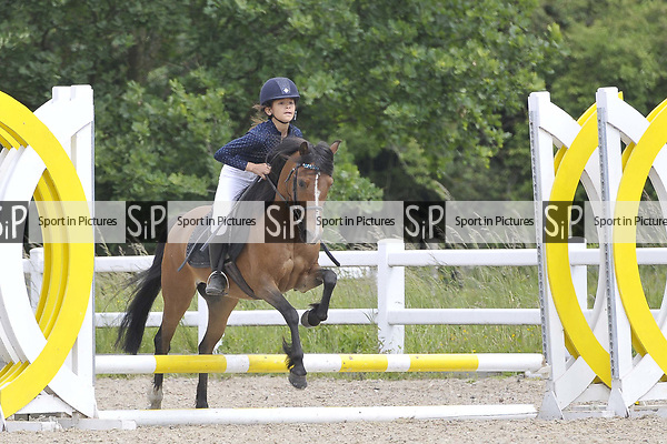 Class 2. Unaffiliated Showjumping. Brook Farm Training Centre. Essex. 10/06/2018. ~ MANDATORY Credit Garry Bowden/Sportinpictures - NO UNAUTHORISED USE - 07837 394578