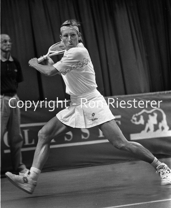 Tennis star Martina Natrolova<br /> (1992 photo/Ron Riesterer