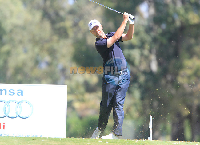 Mark Foster (ENG) tees off on the 3rd tee during the Final Day Sunday of the Open de Andalucia de Golf at Parador Golf Club Malaga 27th March 2011. (Photo Eoin Clarke/Golffile 2011)