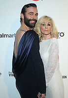 09 February 2020 - West Hollywood, California - Jonathan Van Ness, Judith Light. 28th Annual Elton John Academy Awards Viewing Party held at West Hollywood Park. Photo Credit: FS/AdMedia