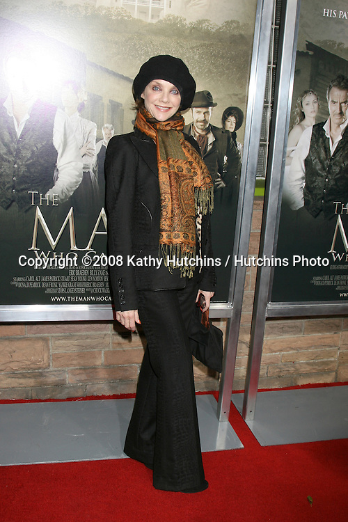 "Judith Chapman.""The Man Who Came Back"" Premiere.Aero Theater.Santa Monica, CA.February 8, 2008.©2008 Kathy Hutchins / Hutchins Photo...."