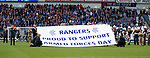 Rangers show their support for Armed Forces Day