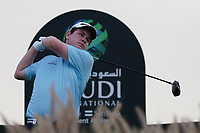 Robert MacIntyre (SCO) on the 14th during Round 2 of the Saudi International at the Royal Greens Golf and Country Club, King Abdullah Economic City, Saudi Arabia. 31/01/2020<br /> Picture: Golffile | Thos Caffrey<br /> <br /> <br /> All photo usage must carry mandatory copyright credit (© Golffile | Thos Caffrey)