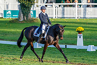 AUS-Samantha Birch rides Faerie Magnifico during the second day of Dressage for the CCI32*-L6YO. Interim-5th. 2019 FRA-Mondial du Lion - FEI World Breeding Championships. Le Lion d'Angers. France. Friday 18 October. Copyright Photo: Libby Law Photography