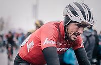 John Degenkolb's (DEU/Trek-Segafredo) post-race face<br /> <br /> 73rd Dwars Door Vlaanderen 2018 (1.UWT)<br /> Roeselare - Waregem (BEL): 180km