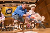 Festival of Native Arts, Inu-Yupiaq Dance Group, Native dance and art celebration in Fairbanks, Alaska