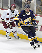 Matt Greene, Ryan Sullivan - Boston College defeated Merrimack College 3-0 with Tim Filangieri's first two collegiate goals on November 26, 2005 at Kelley Rink/Conte Forum in Chestnut Hill, MA.