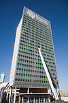 KPN Telecom Building, Rotterdam, Netherlands designed by architect Renzo Piano completed in 2000.