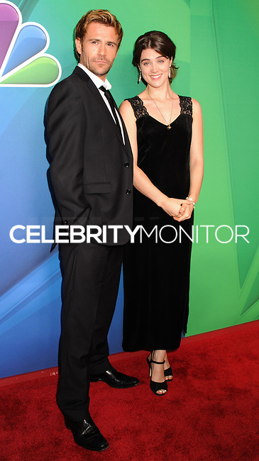 NEW YORK CITY, NY, USA - MAY 12: Matt Ryan, Lucy Griffiths at the 2014 NBC Upfront Presentation held at the Jacob K. Javits Convention Center on May 12, 2014 in New York City, New York, United States. (Photo by Celebrity Monitor)
