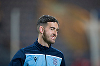 1st November 2019; Dens Park, Dundee, Scotland; Scottish Championship Football, Dundee Football Club versus Greenock Morton; Shaun Byrne of Dundee during the warm up before the match  - Editorial Use