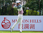 Hyo Joo Kim of Korea in action during the Hyundai China Ladies Open 2014 Pro-am on December 10 2014, in Shenzhen, China. Photo by Xaume Olleros / Power Sport Images