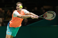 ABN AMRO World Tennis Tournament, Rotterdam, The Netherlands, 13 februari, 2017, Florian Mayer (GER)<br /> Photo: Henk Koster