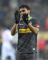 FUSSBALL   1. BUNDESLIGA  SAISON 2011/2012   16. Spieltag FC Augsburg - Borussia Moenchengladbach            10.12.2011 Igor de Camargo (Borussia Moenchengladbach)