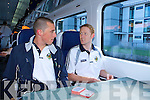 Kieran Donaghy and Colm Cooper play cards on the train up to Dublin on Saturday   Copyright Kerry's Eye 2008