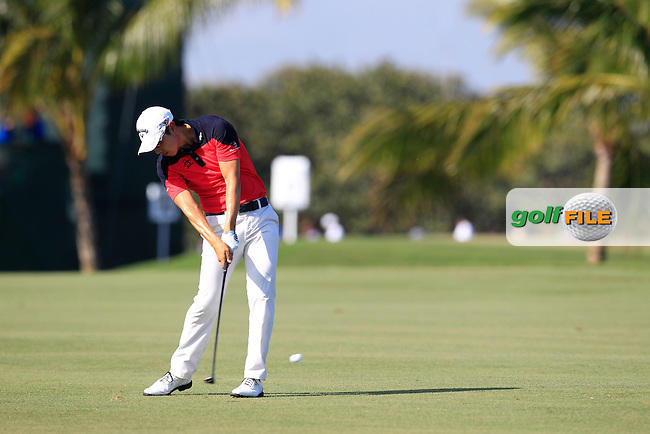 Sangmoon Bae (KOR) during the 2nd round at the WGC Cadillac Championship, Blue Monster, Trump National Doral, Doral, Florida, USA<br /> Picture: Fran Caffrey / Golffile