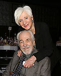 Louis Zorich and Olympia Dukakis attend the La Mama Earth Gala Honoring Olympia Dukakis And Dan Kutz at the Ellen Stewart Theatre on November 13, 2014 in New York City.