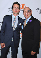 BEVERLY HILLS, CA - APRIL 7:  Matt Bomer and Willie Garson at The Alliance for Children's Rights 22nd Annual Dinner at the Beverly Hilton Hotel on April 7, 2014 in Beverly Hills, California. PG213/MPI/Starlitepics
