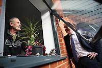 Boris Johnson Visits Veterans Centre Salisbury