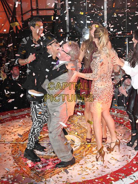 BOREHAMWOOD, ENGLAND - JANUARY 29: Jim Davidson at the Celebrity Big Brother Final at Elstree Studios on January 29, 2014 in Borehamwood, England<br /> CAP/ROS<br /> &copy;Steve Ross/Capital Pictures