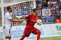 Andre Weis (FSV) gegen Erwin Hoffer (KSC) - FSV Frankfurt vs. Karlsruher SC, Frankfurter Volksbank Stadion