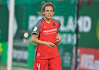 Portland, OR - Saturday May 27, 2017: Emily Menges during a regular season National Women's Soccer League (NWSL) match between the Portland Thorns FC and the Boston Breakers at Providence Park.