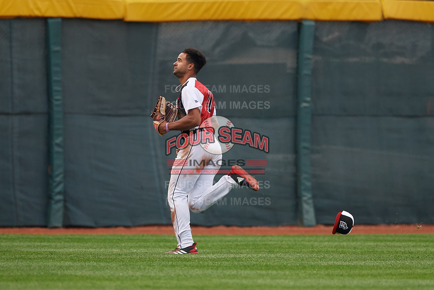 Erie SeaWolves outfielder Derek Hill (11) during an Eastern League game against the Portland Sea Dogs on June 17, 2019 at UPMC Park in Erie, Pennsylvania.  Portland defeated Erie 6-3.  (Mike Janes/Four Seam Images)