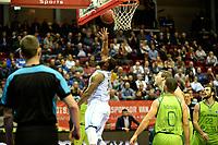 GRONINGEN - Basketbal, Donar - Dinamo Sassari, Martiniplaza, Europe Cup, seizoen 2018-2019, 12-12-2018,   score Donar speler Lance Jeter