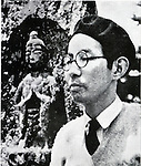 Undated - Tatsuo Hori (1904-1953) was a Japanese writer, poet, and translator of the Showa period. His major work is 'Kaze Tachinu (The Wind Has Risen)',  modeled between him and Ayako Yano. (Photo by Kingendai Photo Library/AFLO)