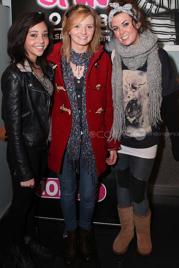 NO REPRO FEE. 3/2/2011. OPENING OF THE COUNTER.Noelle Moore, Emma O Neill and Aoife Quilty are pictured at the opening of the Counter restaurant on Suffolk St Dublin. Picture James Horan/Collins Photos