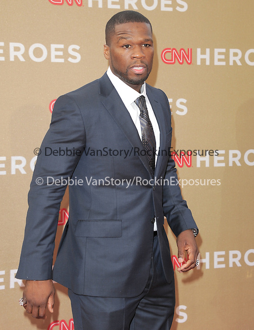Curtis Jackson aka 50 cent  attends CNN Heroes - An Allstar Tribute held at The Shrine Auditorium in Los Angeles, California on December 11,2011                                                                               © 2011 DVS / Hollywood Press Agency