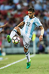 Eduardo Salvio of Argentina during the International Test match between Argentina and Singapore at National Stadium on June 13, 2017 in Singapore. Photo by Marcio Rodrigo Machado / Power Sport Images