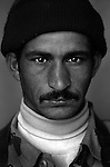 Pvt. Ra'ad Gutaiyim Hassoon, 25, Najaf Old Iraqi Army, 4th Co., 2nd Battalion, 7th Division of the Iraqi Army in Haditha, Iraq on Sun. Nov. 27, 2005.