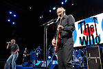 Roger Daltrey and Pete Townshend of The Who perform at the Toyota Center Saturday Nov. 18,2006 in Houston,Texas.