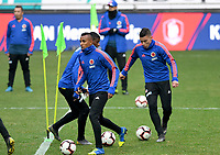 SEUL - COREA DEL SUR, 25-03-2019:  Selección Colombia durante entrenamiento en la cancha del estadio olímpico de Seul previo al encuentro del martes próximo, 26 de marzo de 2019, con la selección nacional de Corea del Sur. / Colombian team during training session at Seoul Olympic Stadium prior the match against Soth Korea National soccer team tomorrow, March 26, 2019, in Seul South Korea. Photo: VizzorImage / Alfonso Cervantes / Cont