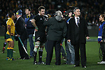Richie Mcaw. All Blacks beat Australia 22-0. Eden Park, Auckland. 25 August 2012. Photo: Marc Weakley