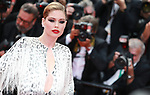 "72nd edition of the Cannes Film Festival in Cannes in Cannes, southern France on May 21, 2019. Red Carpet for the screening of the film ""Once Upon a Time... in Hollywood"" Dutch Top Model Doutzen Kroes on the red carpet.<br /> © Pierre Teyssot / Maxppp"