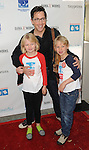 Dan Bucatinsky and family arriving at the '5th Annual Milk and Bookies Story Time Celebration' held at the Skirball Cultural Center Los Angeles, CA. April 27, 2014.