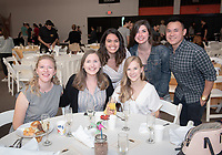 Graduating seniors, faculty and staff enjoy Class Day and Senior Brunch in Rush Gym, Friday, May 17, 2019.<br /> (Photo by Marc Campos, Occidental College Photographer)