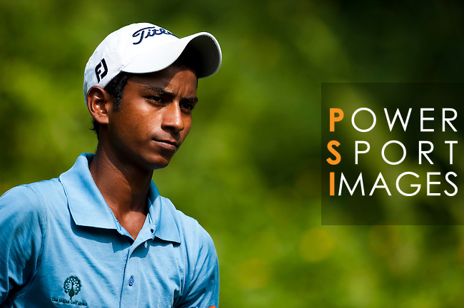 SHENZHEN, CHINA - OCTOBER 31:  Rashid Khan of India walks on the 6th hole during the day three of Asian Amateur Championship at the Mission Hills Golf Club on October 31, 2009 in Shenzhen, Guangdong, China.  (Photo by Victor Fraile/The Power of Sport Images) *** Local Caption *** Rashid Khan