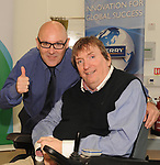 Chris Hoey and IWA Service Coordinator Terry OÕBrien at the opening of the Irish Wheelchair Association new Community Centre at The Reeks Gateway, Killarney on Friday.   Picture: macmonagle.com