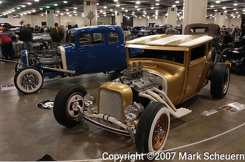 Dennis Strayer's 1927 Model T at the 2007 Detroit Autorama
