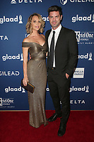 13 April 2018 - Beverly Hills, California - Arielle Kebbel, Sterling Jones. 29th Annual GLAAD Media Awards at The Beverly Hilton Hotel. <br /> CAP/ADM/FS<br /> &copy;FS/ADM/Capital Pictures