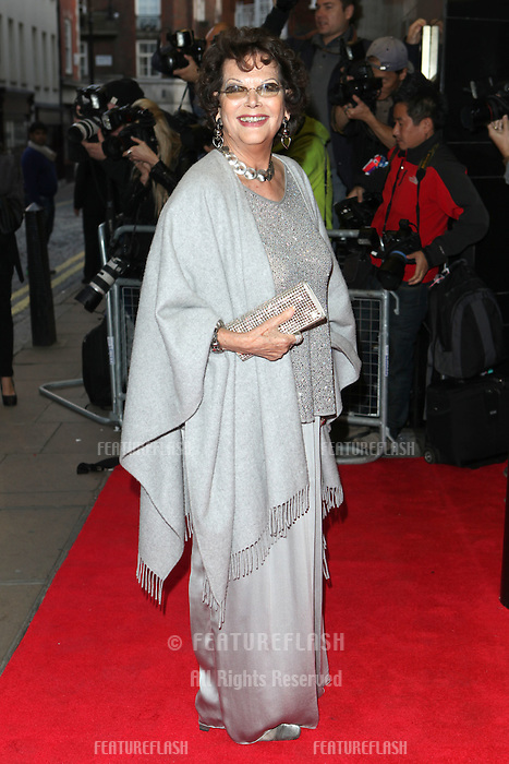 Claudia Cardinale driving for the Effie Gray premiere, Curzon Mayfair, London. 05/10/2014 Picture by: Alexandra Glen / Featureflash