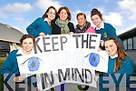 Keep the blind in mind YSI Project in conjunction with the Junior Rotary were pictured l-r: Aoife O'Connell, Eleanor O'Grady Grace O'Donnell, Lynsey Moriarty, Lucy Kelly and Cliodhna Leen...