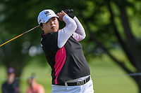 Shanshan Feng (CHN) watches her tee shot on 12 during the round 1 of the KPMG Women's PGA Championship, Hazeltine National, Chaska, Minnesota, USA. 6/20/2019.<br /> Picture: Golffile | Ken Murray<br /> <br /> <br /> All photo usage must carry mandatory copyright credit (© Golffile | Ken Murray)