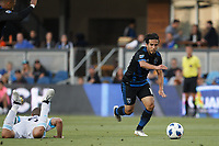 San Jose, CA - Wednesday July 25, 2018: Jahmir Hyka during a Major League Soccer (MLS) match between the San Jose Earthquakes and the Seattle Sounders FC at Avaya Stadium.